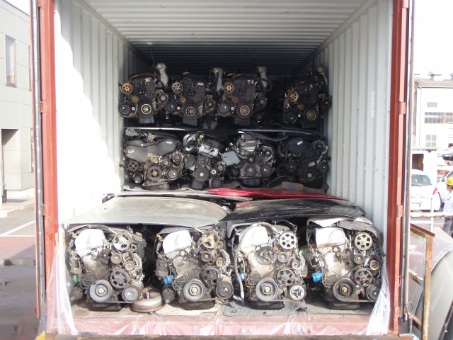 Engines loaded in Japan